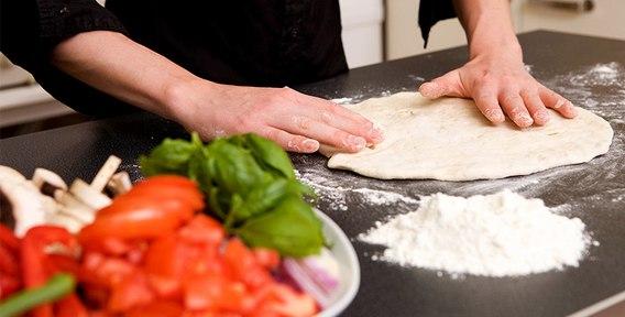 Тонкое тесто для итальянской пиццы