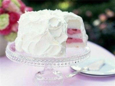 Белковый крем для тортов и пирожных