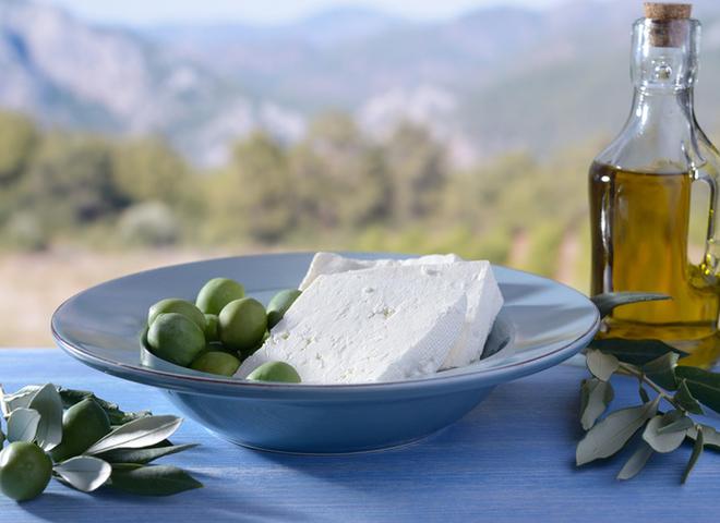 Фета — сырная визитка Греции