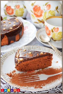 Шоколадная «Пища ангелов» в мультиварке