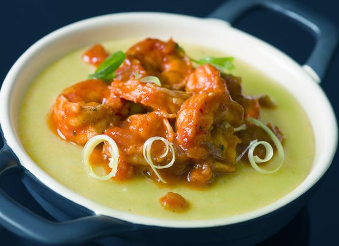Вкусные постные рецепты: гороховое пюре с морепродуктами