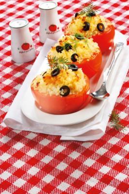 Фаршированные помидоры с кускусом: рецепт легкого сытного блюда