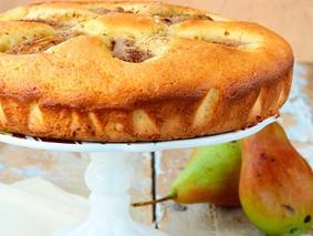 Орехово-грушевый пирог
