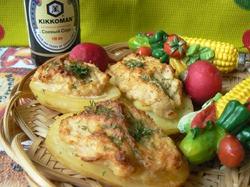 Картошка-гриль с сюрпризом