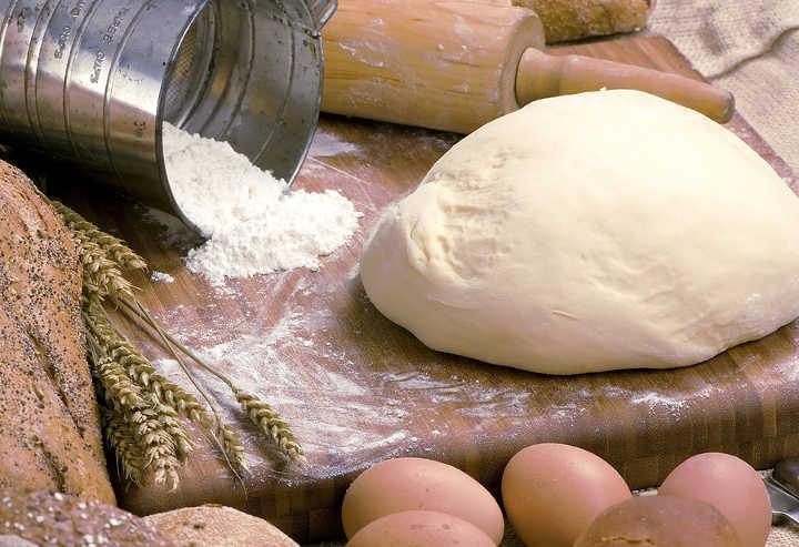 Песочно-творожное тесто с желтком