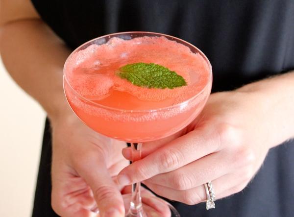 Арбузный коктейль с мятой