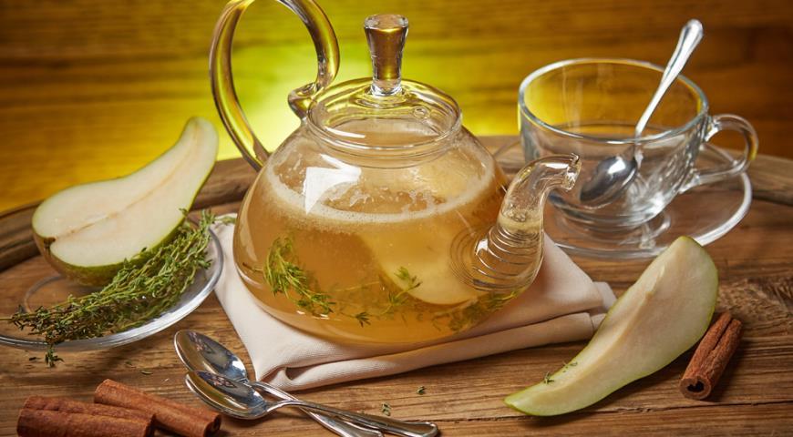 Чай «Груша с бузиной»