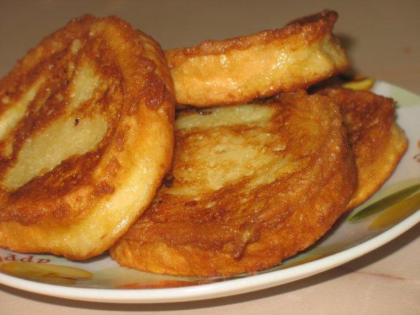 Оригинальные гренки на завтрак