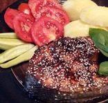 Запеченная форель в укропно-горчичном маринаде