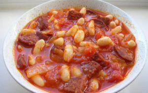 Рецепт фасоли по-турецки
