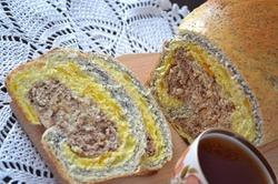 Десертный хлеб «Три любви»