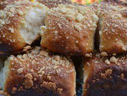 Творожные булочки со штрейзелем
