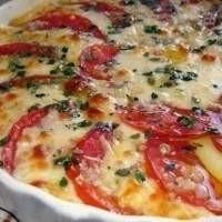 Великолепная закуска «Помидоры с сыром»
