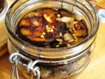 Закуска холодная из баклажанов