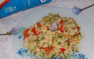 Рис с болгарским перцем» по-семейному»