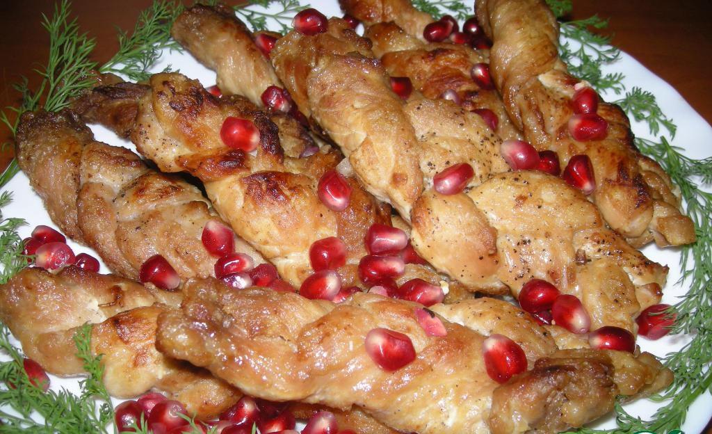 Праздничные блюда из мяса на день рождения рецепты пошагово