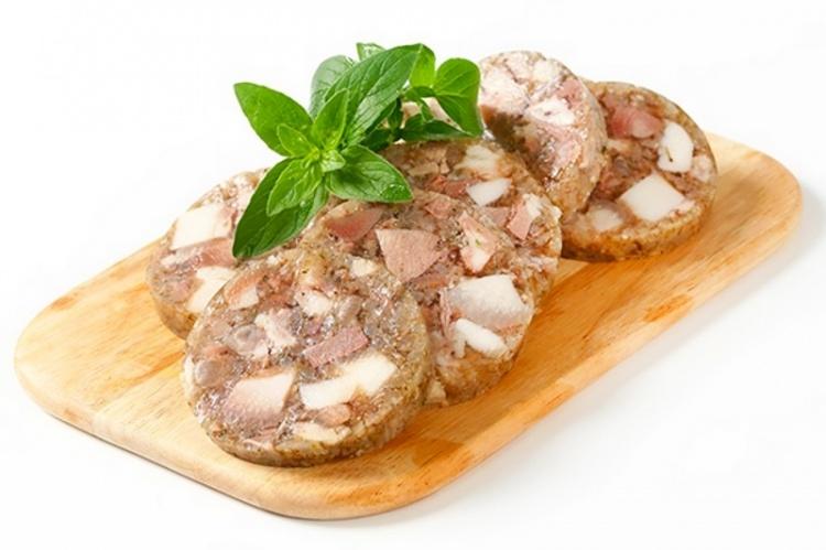 Домашняя колбаса «Зельц»