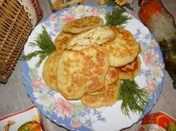 Капустные оладьи «Семейный завтрак»