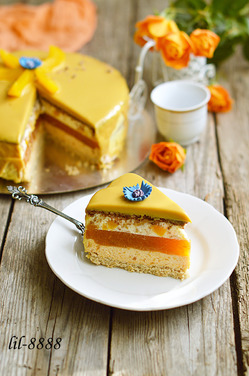 Торт «Король Солнце»