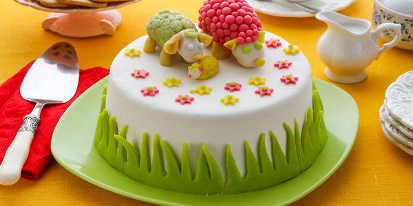 Простой рецепт торта из мастики