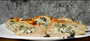 Куриное филе с сыром «Рикотта»