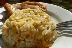 Рисовая запеканка «Золотце»
