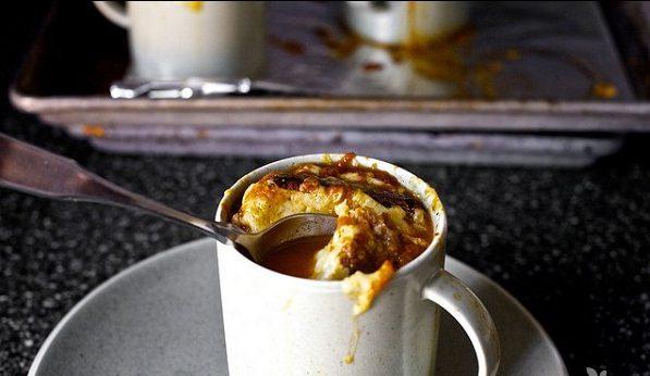 Томатный суп, запеченный в духовке