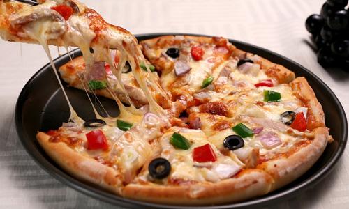 Пицца на сковороде за 5 минту