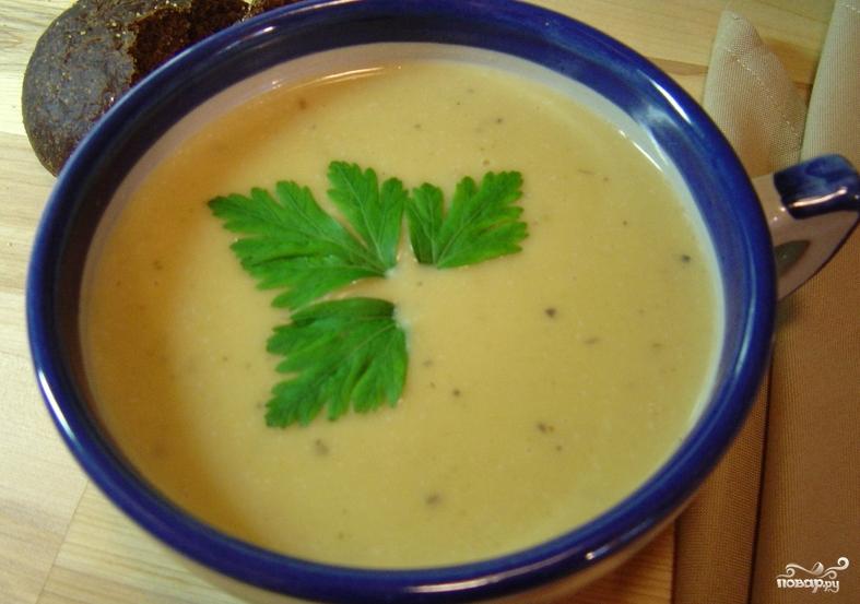 Картофельный суп для ребенка