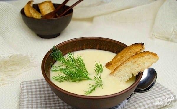 Картофельный суп со сливками