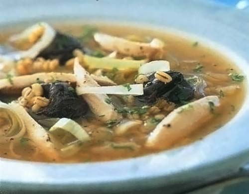 «Кок-а-лики» — шотландский куриный суп