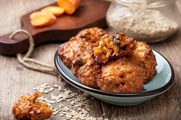 Из постного меню — морковно-овсяное печенье