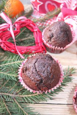 Шоколадные кексы на сыворотке