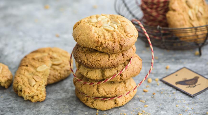 Безглютеновое печенье из арахисовой пасты