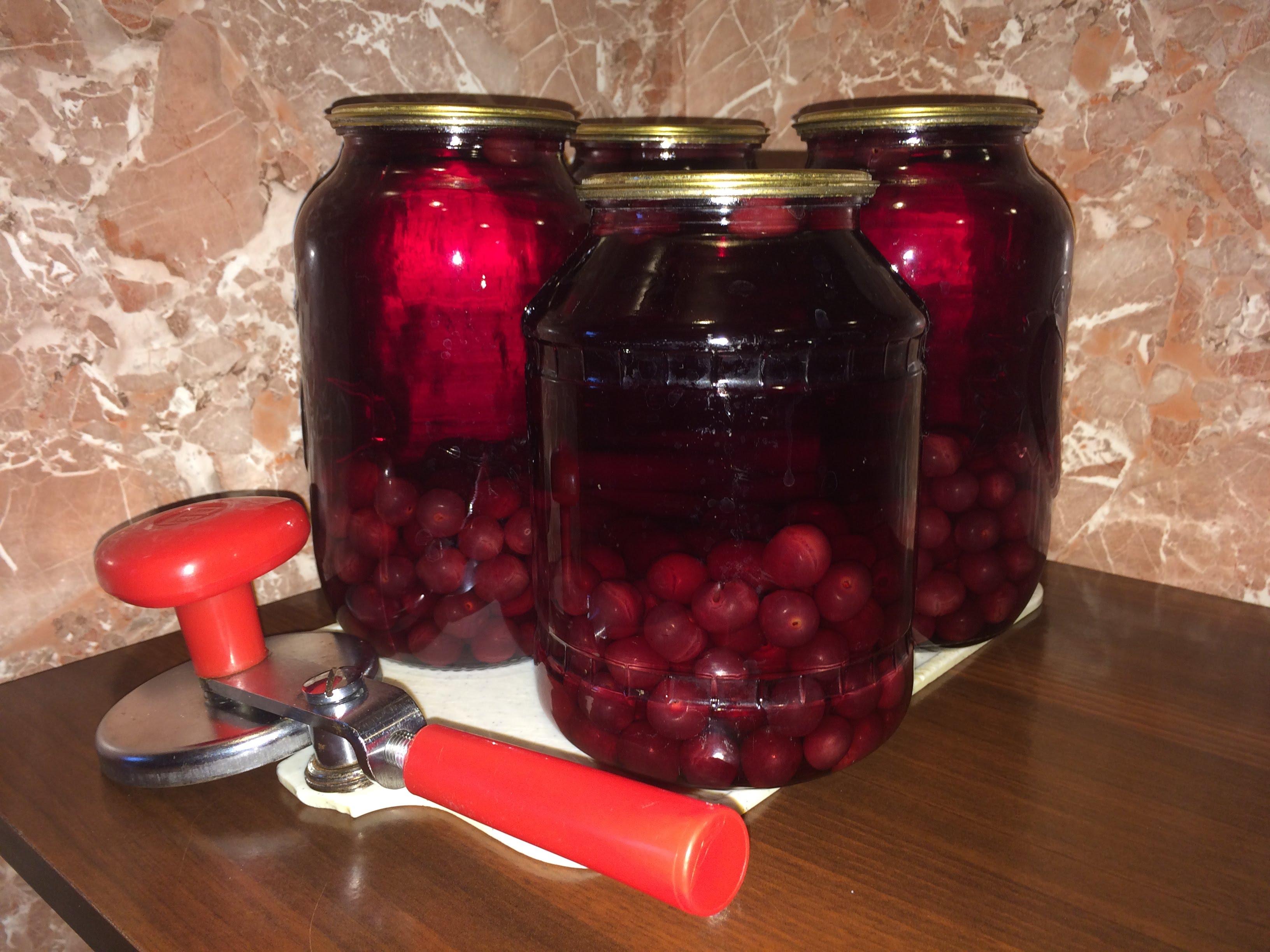 Компоты на зиму из ягод и фруктов. Рецепты компотов из яблок