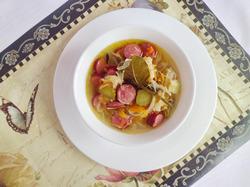 Суп «По мотивам солянки»
