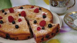 Пирог «Ягодный клад»