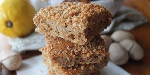 Ореховое печенье на сыворотке