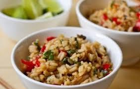 Рис в тайском стиле по-домашнему