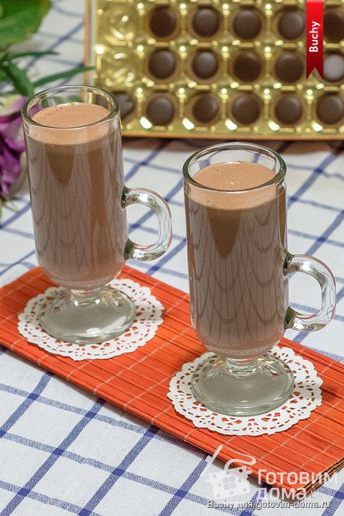 Шоколадно-фруктовый милк-шейк