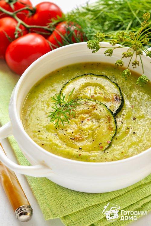 Суп-пюре с цуккини (молодыми кабачками)