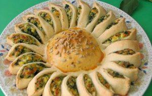 Пирог «Солнце»