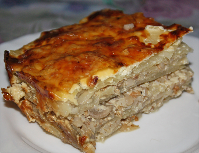Пирог мясо капустный рецепт