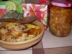Кабачковый салат с перцем «Юрча-бенс»