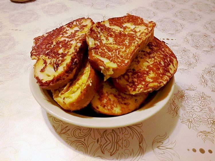 Сырные гренки из батона