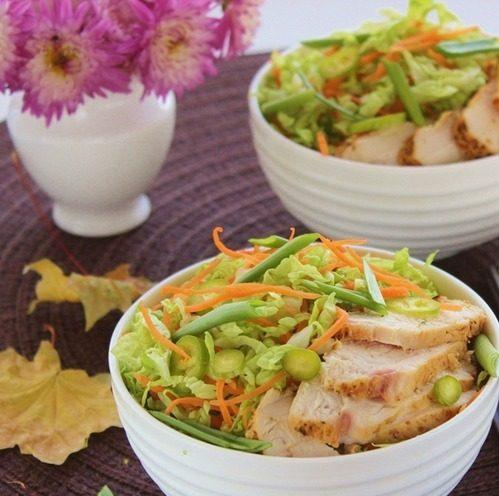 Салат с куриной грудкой «Азиатский мотив»