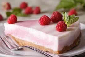 Розовый чизкейк