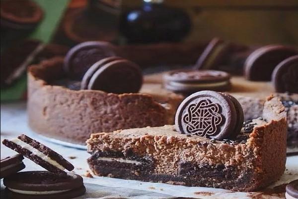 Шоколадно-творожный тарт «Oreo»