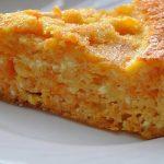 Творожно-морковная запеканка на завтрак