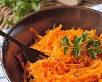 Белорусский морковный салат